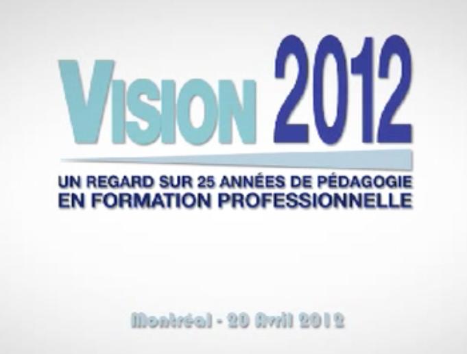 Présentation de L'événement qui c'est passé à l'UQAM en 2012 sur les 25 ans de la réforme en FP.